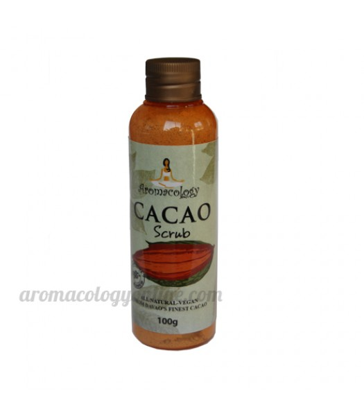 Cacao Body Scrub Cocoa Cleansing Body Scrub
