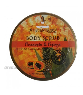 Pineapple and Papaya Extract Body Scrub 100g