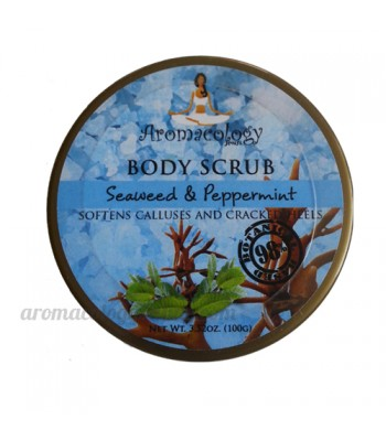 Seaweed and Peppermint Body Scrub 100g