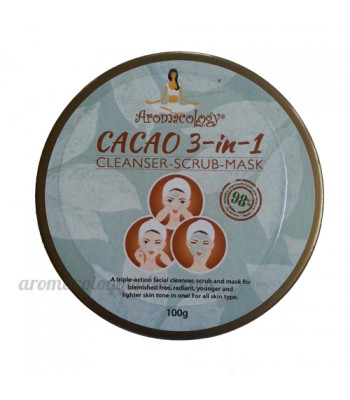 Cacao 3-in-1 Cleanser Cocoa Scrub Mask