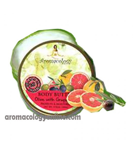 Olive with Grapefruit Extract Body Butter