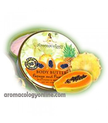 Pineapple and Papaya Extract Body Butter