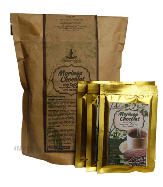 Moringa Chocolate Drink